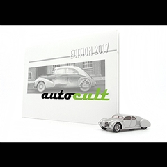 AUTOCULT BOOK OF THE YEAR 2017 WITH AUTOUNION TYPE 52 BY PORSCHE(1/43)