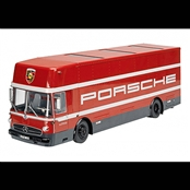MERCEDES−BENZ Racing Car Transporter(1/18)