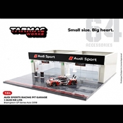 AUDI R8 LMS 2018 with PIT GARAGE(1/64)