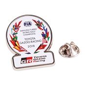 WRC 優勝記念ピンバッジ 2018 TOY14PIN